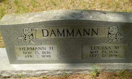 DAMMANN, HERMANN H - Greene County, Arkansas   HERMANN H DAMMANN - Arkansas Gravestone Photos