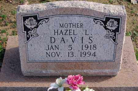 DAVIS, HAZEL L. - Greene County, Arkansas | HAZEL L. DAVIS - Arkansas Gravestone Photos