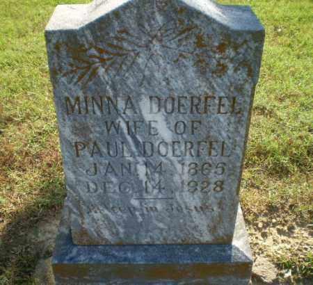 DOERFEL, MINNA - Greene County, Arkansas   MINNA DOERFEL - Arkansas Gravestone Photos