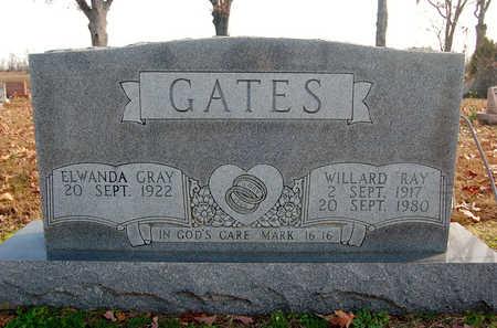 "GATES, WILLARD ""RAY"" - Greene County, Arkansas | WILLARD ""RAY"" GATES - Arkansas Gravestone Photos"