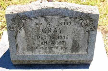 GRAY, WILLIAM D. (BILL) - Greene County, Arkansas | WILLIAM D. (BILL) GRAY - Arkansas Gravestone Photos