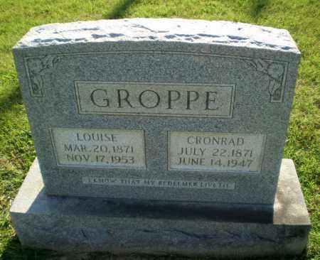 GROPPE, CRONRAD - Greene County, Arkansas | CRONRAD GROPPE - Arkansas Gravestone Photos