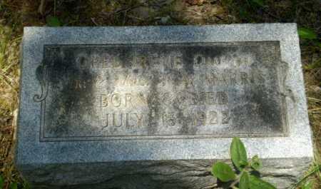 HARRIS, OPEL IRENE - Greene County, Arkansas   OPEL IRENE HARRIS - Arkansas Gravestone Photos