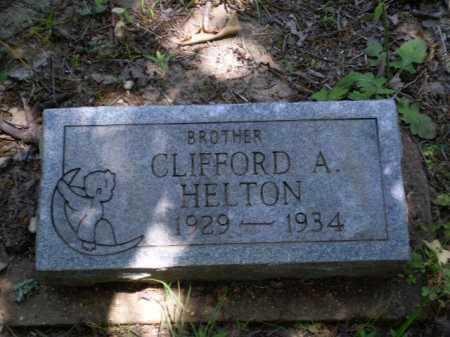 HELTON, CLIFFORD A - Greene County, Arkansas | CLIFFORD A HELTON - Arkansas Gravestone Photos