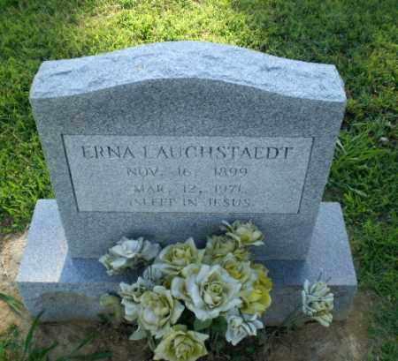 LAUCHSTAEDT, ERNA - Greene County, Arkansas   ERNA LAUCHSTAEDT - Arkansas Gravestone Photos