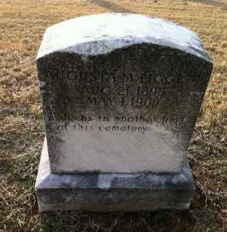 LIGGETT, AUGUSTA M - Greene County, Arkansas | AUGUSTA M LIGGETT - Arkansas Gravestone Photos