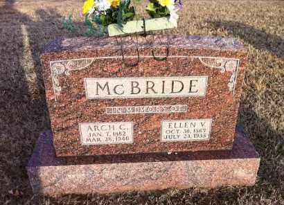 MCBRIDE, ARCH C - Greene County, Arkansas   ARCH C MCBRIDE - Arkansas Gravestone Photos