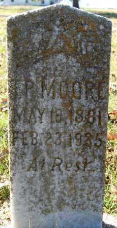 MOORE, T. P. - Greene County, Arkansas   T. P. MOORE - Arkansas Gravestone Photos