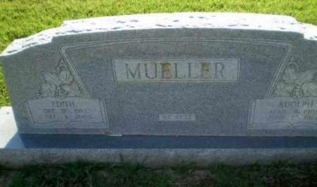 MUELLER, EDITH - Greene County, Arkansas | EDITH MUELLER - Arkansas Gravestone Photos