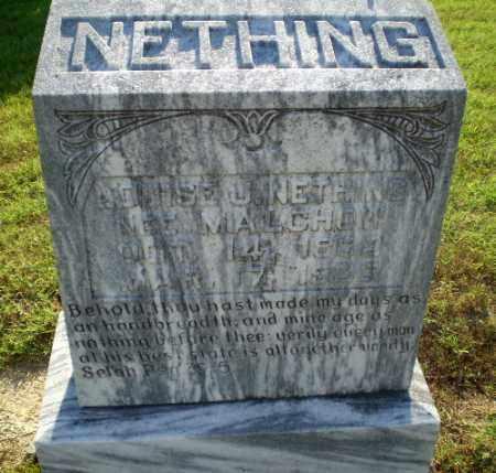 MALCHON NETHING, LOUISE J - Greene County, Arkansas | LOUISE J MALCHON NETHING - Arkansas Gravestone Photos