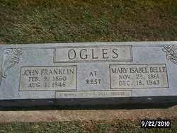 OGLES, JOHN FRANKLIN - Greene County, Arkansas   JOHN FRANKLIN OGLES - Arkansas Gravestone Photos