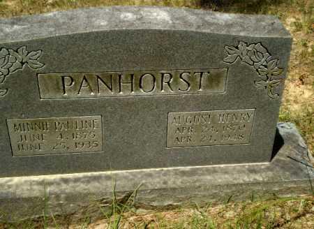 PANHORST, AUGUST HENRY - Greene County, Arkansas   AUGUST HENRY PANHORST - Arkansas Gravestone Photos