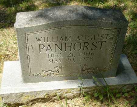 PANHORST, WILLIAM AUGUST - Greene County, Arkansas   WILLIAM AUGUST PANHORST - Arkansas Gravestone Photos