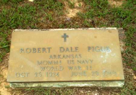 PIGUE  (VETERAN WWII), ROBERT DALE - Greene County, Arkansas   ROBERT DALE PIGUE  (VETERAN WWII) - Arkansas Gravestone Photos