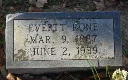 RONE, EVERTT - Greene County, Arkansas | EVERTT RONE - Arkansas Gravestone Photos