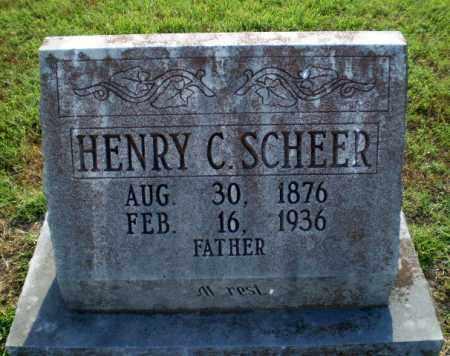 SCHEER, HENRY C - Greene County, Arkansas | HENRY C SCHEER - Arkansas Gravestone Photos