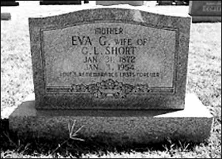 SHORT, EVA G. - Greene County, Arkansas | EVA G. SHORT - Arkansas Gravestone Photos