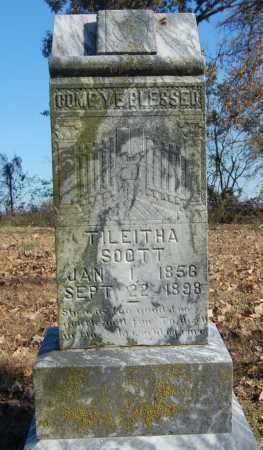 SOOTT, TILEITHA - Greene County, Arkansas   TILEITHA SOOTT - Arkansas Gravestone Photos