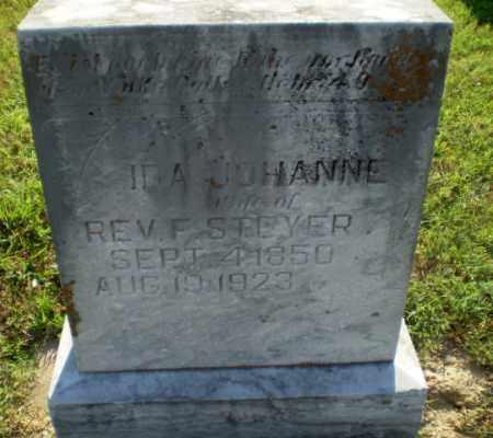 STEYER, IDA JOHANNE - Greene County, Arkansas | IDA JOHANNE STEYER - Arkansas Gravestone Photos