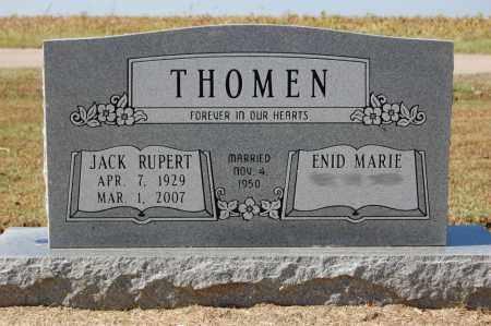 THOMEN, JACK RUPERT - Greene County, Arkansas | JACK RUPERT THOMEN - Arkansas Gravestone Photos