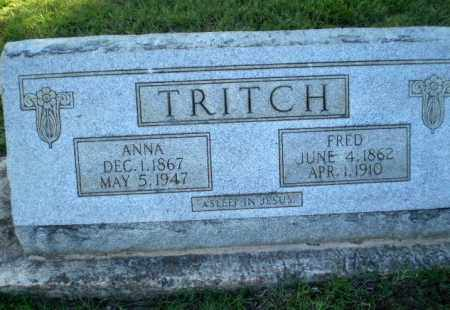 TRITCH, ANNA - Greene County, Arkansas   ANNA TRITCH - Arkansas Gravestone Photos