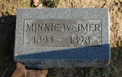 WEIMER, MINNIE - Greene County, Arkansas | MINNIE WEIMER - Arkansas Gravestone Photos