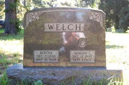 WELCH, MARION C. - Greene County, Arkansas | MARION C. WELCH - Arkansas Gravestone Photos