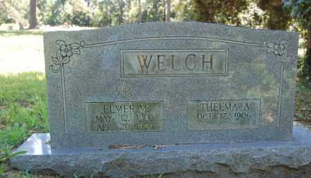 WELCH, ELMER M. - Greene County, Arkansas   ELMER M. WELCH - Arkansas Gravestone Photos
