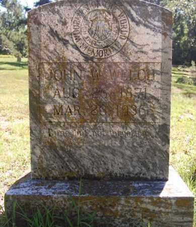 WELCH, JOHN W. - Greene County, Arkansas | JOHN W. WELCH - Arkansas Gravestone Photos