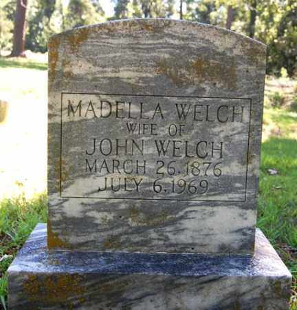 WELCH, MADELLA - Greene County, Arkansas | MADELLA WELCH - Arkansas Gravestone Photos