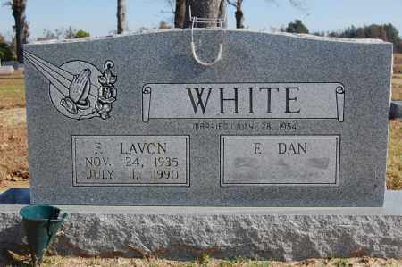 WHITE, F. LAVON - Greene County, Arkansas | F. LAVON WHITE - Arkansas Gravestone Photos