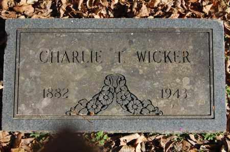 WICKER, CHARLIE T. - Greene County, Arkansas | CHARLIE T. WICKER - Arkansas Gravestone Photos