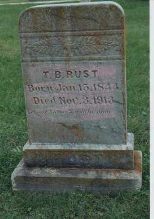 RUST, THOMAS BENTON - Greene County, Arkansas | THOMAS BENTON RUST - Arkansas Gravestone Photos