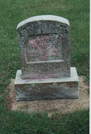 THOMPSON, CLAUDE - Greene County, Arkansas | CLAUDE THOMPSON - Arkansas Gravestone Photos