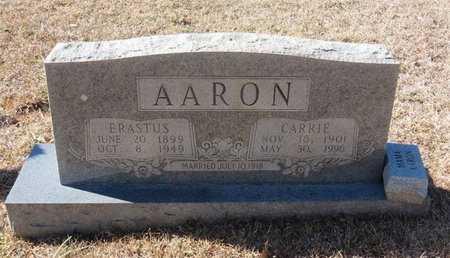 AARON, CARRIE - Hempstead County, Arkansas | CARRIE AARON - Arkansas Gravestone Photos