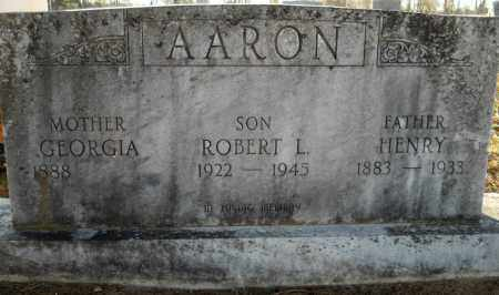 AARON, HENRY - Hempstead County, Arkansas   HENRY AARON - Arkansas Gravestone Photos