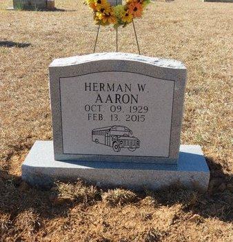 AARON, HERMAN W. - Hempstead County, Arkansas | HERMAN W. AARON - Arkansas Gravestone Photos