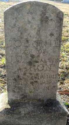 AARON, JOHNNIE - Hempstead County, Arkansas   JOHNNIE AARON - Arkansas Gravestone Photos