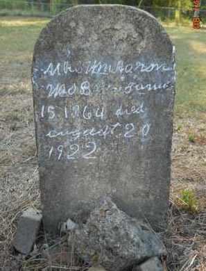 AARON, WILLIAM, MRS. - Hempstead County, Arkansas   WILLIAM, MRS. AARON - Arkansas Gravestone Photos
