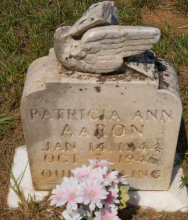 AARON, PATRICIA ANN - Hempstead County, Arkansas   PATRICIA ANN AARON - Arkansas Gravestone Photos
