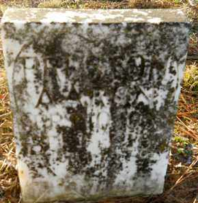 AARON, PRESTON - Hempstead County, Arkansas | PRESTON AARON - Arkansas Gravestone Photos