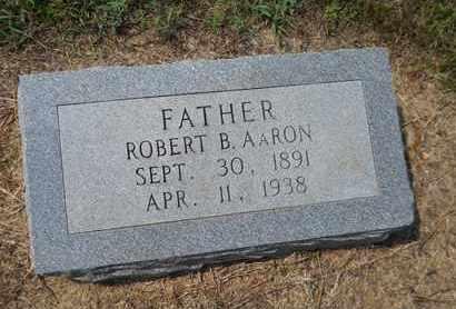 AARON, ROBERT B - Hempstead County, Arkansas | ROBERT B AARON - Arkansas Gravestone Photos