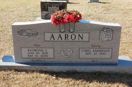 AARON, RAYMOND C. - Hempstead County, Arkansas | RAYMOND C. AARON - Arkansas Gravestone Photos
