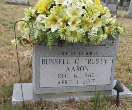 AARON, RUSSELL C. - Hempstead County, Arkansas | RUSSELL C. AARON - Arkansas Gravestone Photos