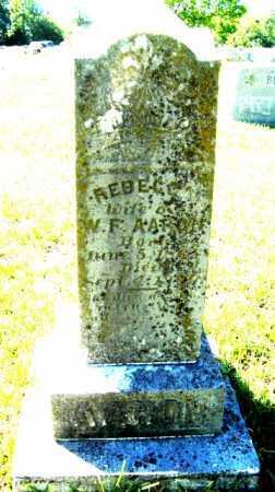 AARON, REBECCA - Hempstead County, Arkansas   REBECCA AARON - Arkansas Gravestone Photos