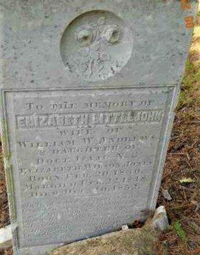 ANDREWS, ELIZABETH LITTLEJOHN - Hempstead County, Arkansas | ELIZABETH LITTLEJOHN ANDREWS - Arkansas Gravestone Photos