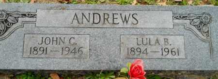 ANDREWS, JOHN C - Hempstead County, Arkansas | JOHN C ANDREWS - Arkansas Gravestone Photos