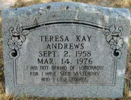 ANDREWS, TERESA KAY - Hempstead County, Arkansas   TERESA KAY ANDREWS - Arkansas Gravestone Photos