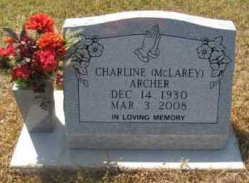 ARCHER, CHARLINE - Hempstead County, Arkansas | CHARLINE ARCHER - Arkansas Gravestone Photos