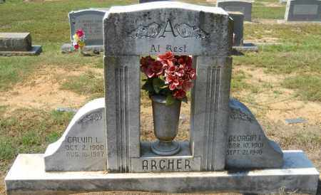 ARCHER, GEORGIA L - Hempstead County, Arkansas | GEORGIA L ARCHER - Arkansas Gravestone Photos